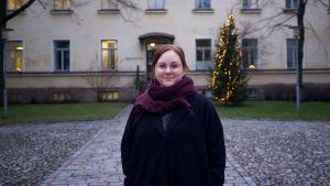 Anna Kukkonen vid statsvetenskapliga fakulteten vid Helsingfors universitet.