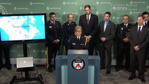 Polisen i Toronto berättade om utredningen