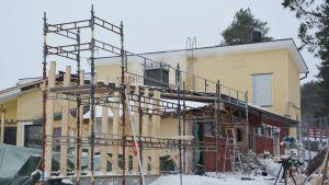 Nybygge vid Fridhem i Houtskär.