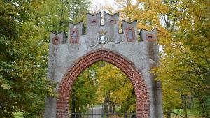 Porten vid Svartå slott