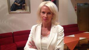 Pia Kauma, gruppordförande för Samlingspartiet i Esbo.