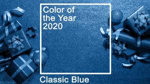 Årets färg år 2020 är classic blue.