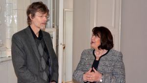 Rolf Danielsson och Ullrike Hjelt-Hansson