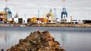 Nordsjö hamn