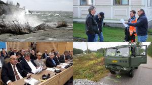 Stormanr, fusionsdiskussioner och rättegångar ägre rum i Österbotten 2019.