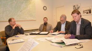 Anders Walls, Werner Orre, Mårten Johansson, Jan Gröndahl
