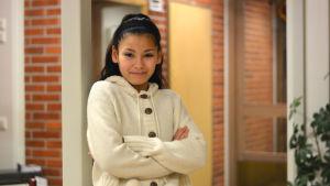 Yasmina Jaidi deltar i SVT:s tv-serie Wild Kids.