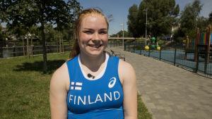 Krista Tervo, U23-EM 2017.