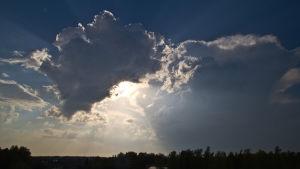 Dramatiska moln