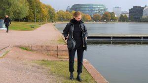 Ulla Donner vid Tokoistranden