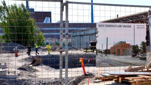 Byggandet av Vasa energilaboratorium har inletts