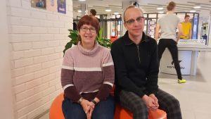 Mari-Louise Rönnqvist och Andreas Forsman är eldsjälar bakom Finlandsmodellen i Pedersöre.