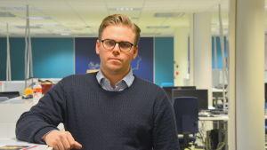 Mattias Skytte, vd för Vasaregionens arenor samkommun