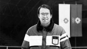 Ken Dryden var expertkommentator i OS i Sarajevo 1984.