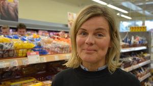 Elisabeth Eriksson är projektledare för Svinnkampen