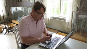 Kultur- och fritidschef Mikael Österberg