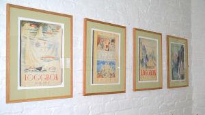 Loggböcker illustrerade av Tove Jansson