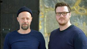 Erik Salvesen och Robert Lindberg.
