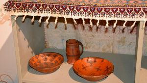 Traditionell keramik från Iran