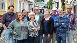 Yle Östnylands redaktion 25.8.2017.