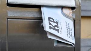 Kyrkpressen i postlåda