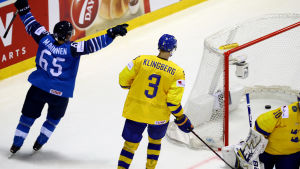 I VM 2019 var Sakari Manninen, som avgjorde kvartsfinalen mot Sverige i förlängning, Finlands klara poängetta med elva poäng på tio matcher.