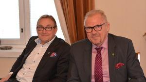 Denis Strandell och Ragnar Lundqvist