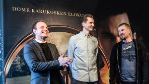 Dome Karukosken elokuva Tolkien.