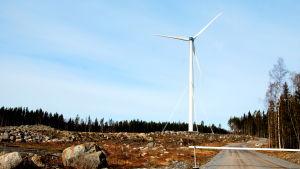 Merventos vindkraftverk i Sundom, Vasa