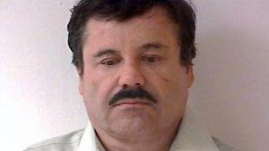"""Den mexikanska knarkbaronen Joaquín """"El Chapo"""" Guzmán."""