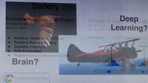 En bild som visar att mänsklig intelligens kan jämföras med en fågel och AI med ett flygplan.