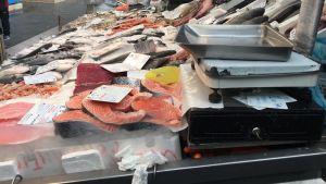 Fiskmarknad i Rom
