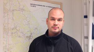 Sibbos vattenverkschef Matti Huttunen