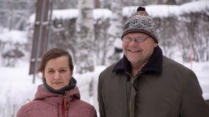 Jenni Koistnen och Mikko Idlax.