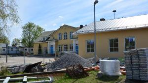 Utbyggnaden av Skräbböle skola är i full gång.