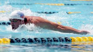Michael Phelps, april 2014