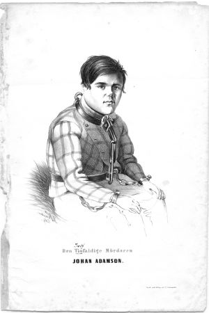 Seriemördaren Johan Adamson