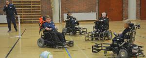 FC Inter Powerchairs träningar.
