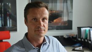Raseborgs bildningsdirektör Robert Nyman.