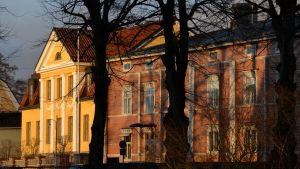 Biskopsgården i Borgå i november 2017