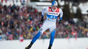 Karel Tammjärv deltog i sprinttävlingen i Seefeld.