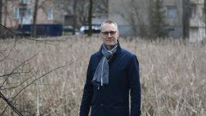 Aktias regiondirektör Oscar Taimitarha