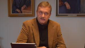 Torbjörn Ekholm, stadsstyrelsens ordförande.
