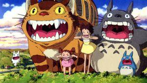 Kuva elokuvasta Naapurini Totoro.