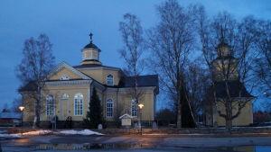 Kronoby kyrka.