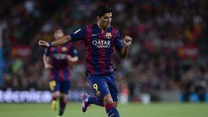 luis suarez barcelona-debut