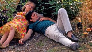 Claire Drouot ja Jean-Claude Drouot elokuvassa Onnen hetket (Le bonheur)