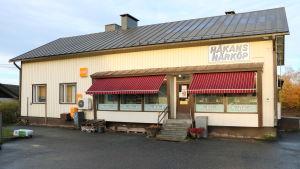 Bybutiken Håkans närköp i Norrnäs i Närpes
