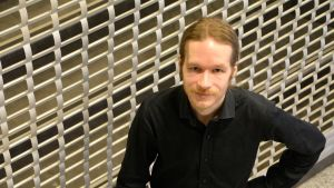 Bibliotekschef Tapani Häkkinen