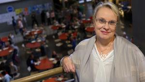 Torpparinmäen peruskoulun rehtori Rita Argillander